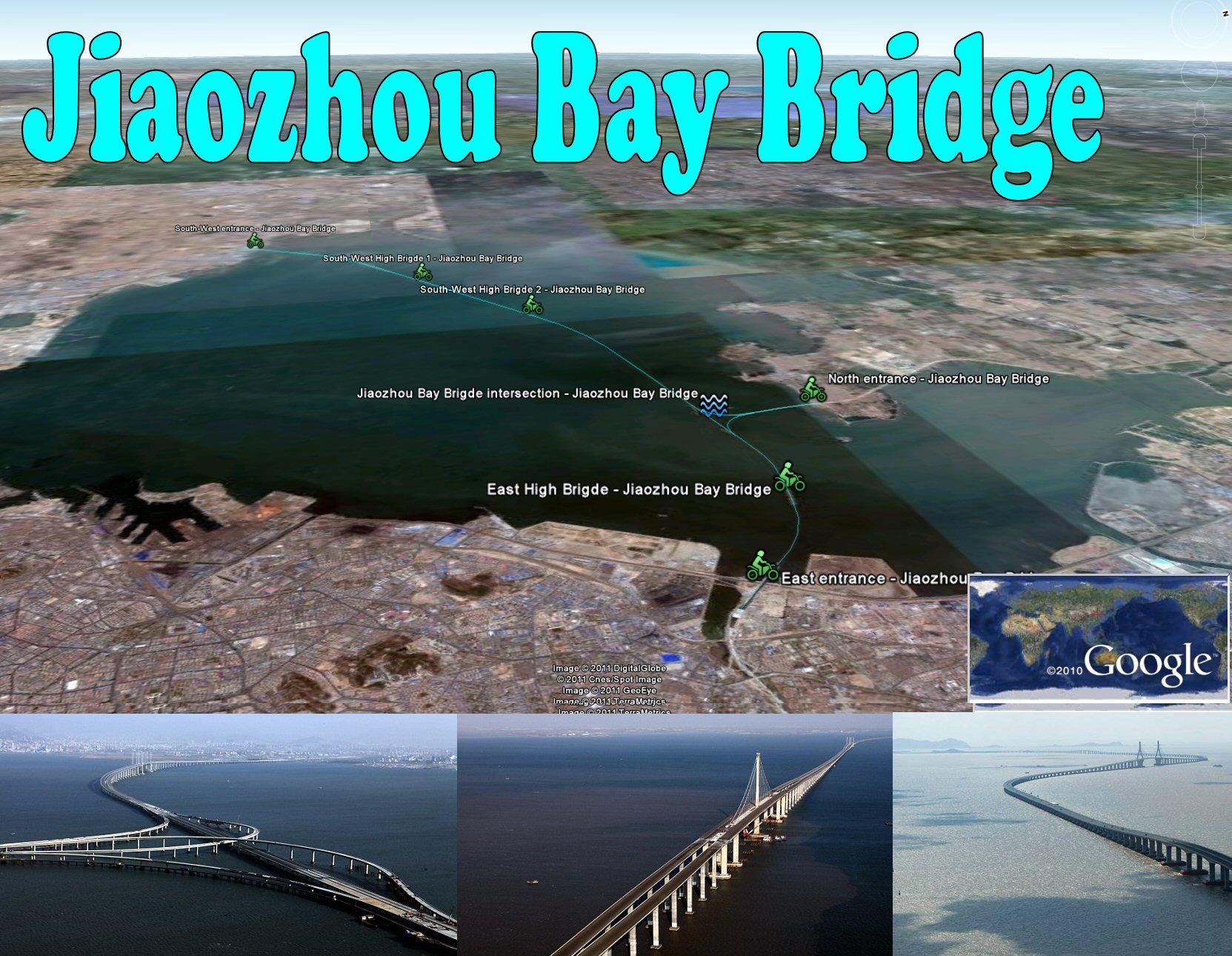 Qingdao Haiwan Bridge Jiaozhou Bay Bridge Worlds Longest Over Water Google